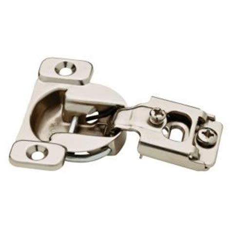 home depot kitchen cabinet hinges liberty 35 mm 105 degree 1 2 in overlay hinge 10 pack