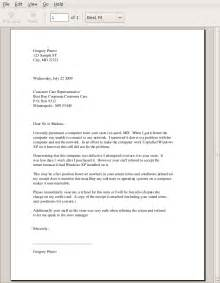 Business Format Essay by Formal Business Letter