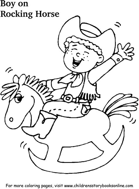coloring pages rocking horse free printable coloring pages with horses freecoloring4u com