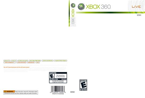 xbox one game cover template image mag