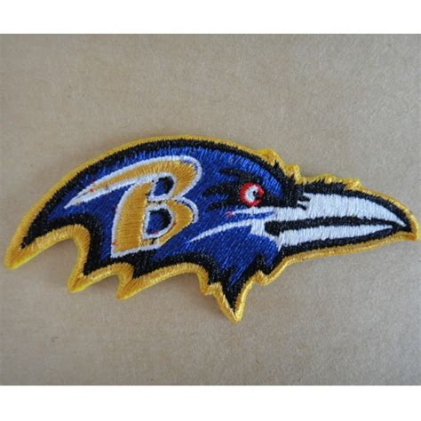 baltimore ravens logo embroidered iron on patches