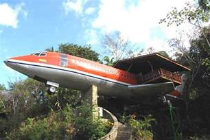 house plane airplane converted to home photographs