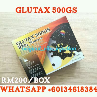 Suntikan Glutax suntikan vitamin c original 013 461 8384