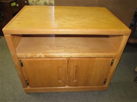 oak microwave cabinet lot detail sturdy oak veneer tv microwave cabinet