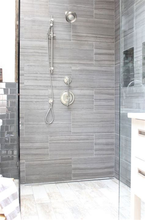 grey tile bathroom ideas 40 gray shower tile ideas and pictures