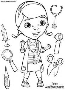 doc mcstuffins coloring pages coloring pages download print