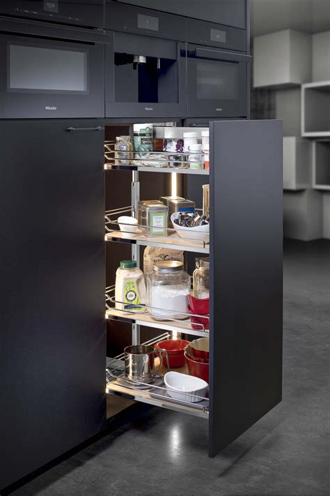pull out kitchen storage ideas hafele pull out pantry kitchen ideas pinterest