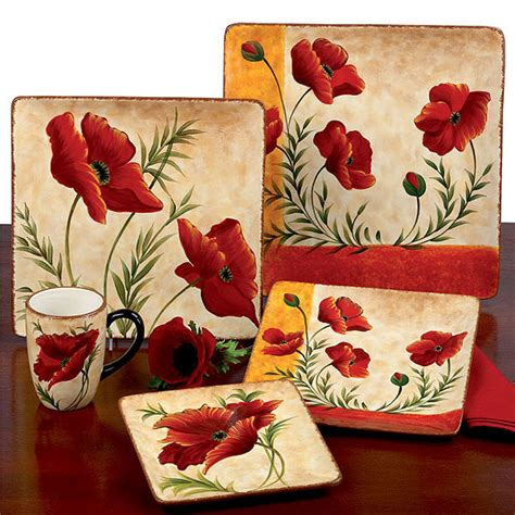 Sunflower Kitchen Canisters tre sorelle tableware casual melamine hand painted glass