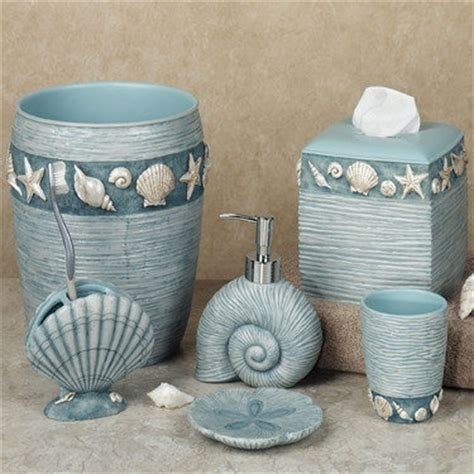 ocean themed bathroom accessories ocean bath accessories beach house someday pinterest