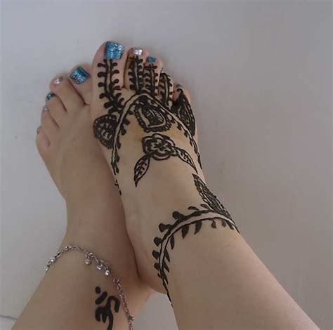 20 glamorous foot mehndi designs images sheideas