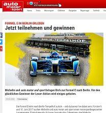 Auto Motor Sport Adventskalender by Formel E Gewinnspiel Bei Auto Motor Und Sport Wochenende