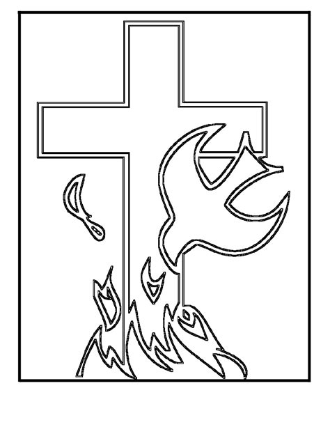 Free Christian Coloring Pages easter coloring pages