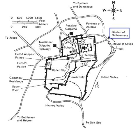 Location Of Garden Of by Jesus At The Garden Of Gethsemane Jesus Holyland