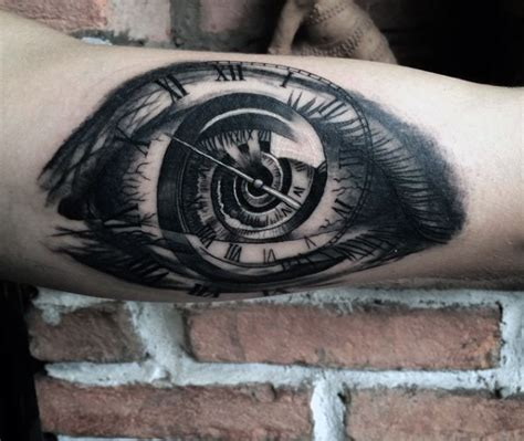 tattoo eye with clock clock tattoos designs ideas and meaning tattoos for you