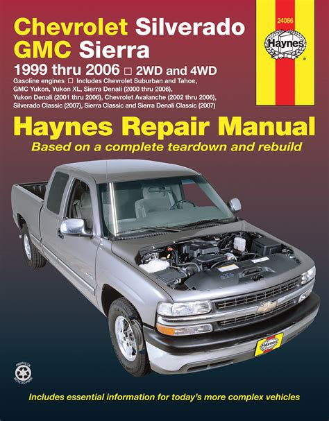 best auto repair manual 1999 chevrolet silverado 1500 regenerative braking chevrolet silverado gmc sierra gas pick ups 99 06 haynes repair manual includes 07