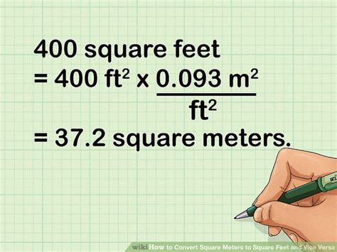 2 meters feet how to convert square meters to square feet and vice versa
