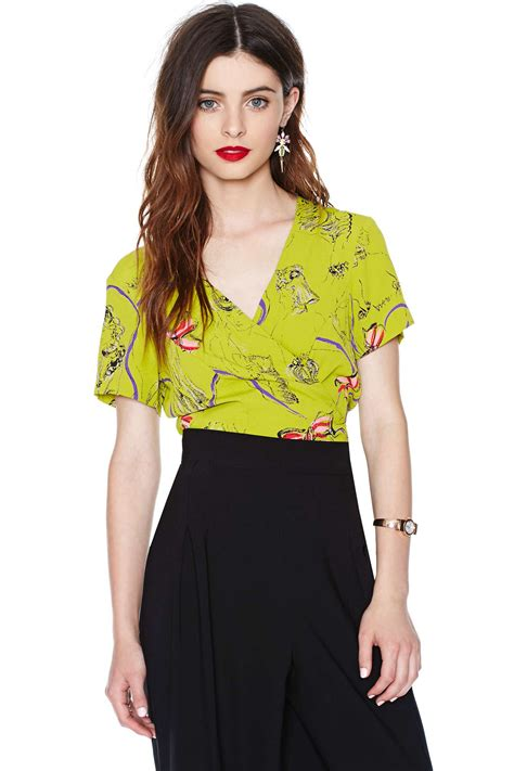 Betsey Johnson For Valentines Day 2 by Lyst Betsey Johnson With Envy Top In Green