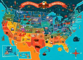 travel map of the united states 30 superb exles of infographic maps webdesigner depot