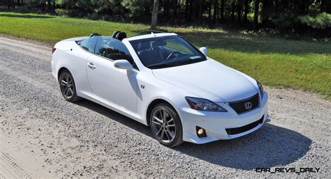 lexus sport 2015 road test review 2014 lexus is350c f sport convertible