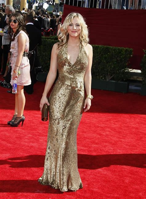 Pictures From The 61st Emmy Awards by Kaley Cuoco Photos Photos The 61st Annual Primetime Emmy