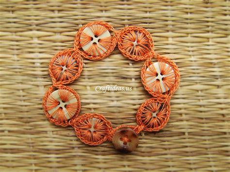 tutorial html button crochet buttons bracelet tutorial craft ideas