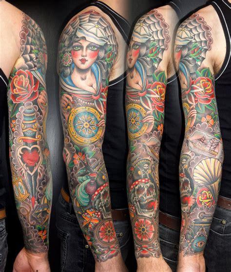 nautical tattoo sleeves on how 30 foxy nautical sleeve tattoos