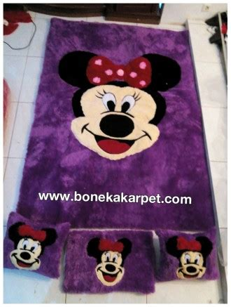 Bantal Set Minnie Mouse 8in1 minnie mouse ungu