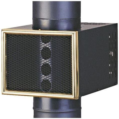 wood stove pipe fan vogelzang 8 quot heat reclaimer wood stove pipe heat fan best