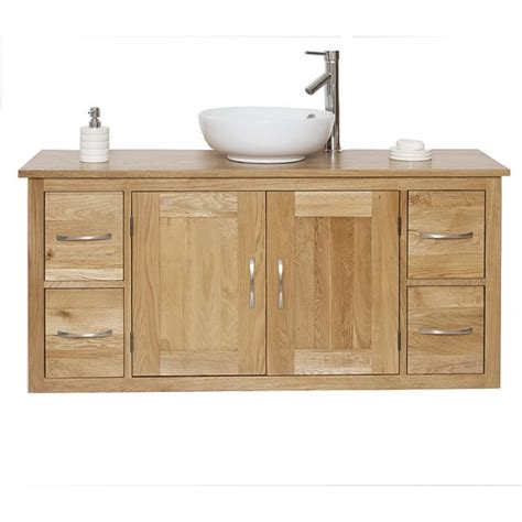 Wall Mounted Vanity Unit by Solid Oak Wall Mounted Vanity Unit Best Price