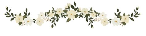 Wedding Border Sts by Flower Line Png Flower Inspiration
