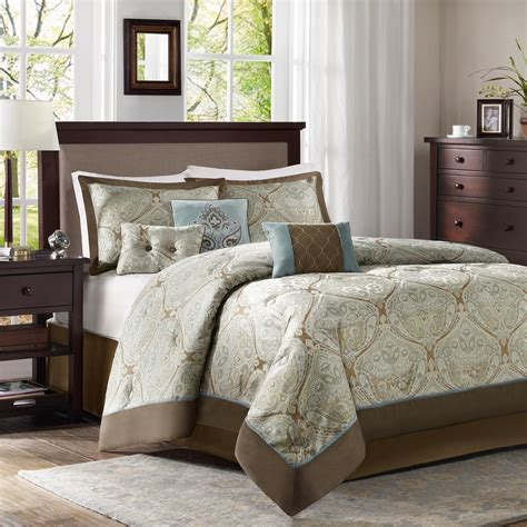 jacquard bedding comforter set sears com