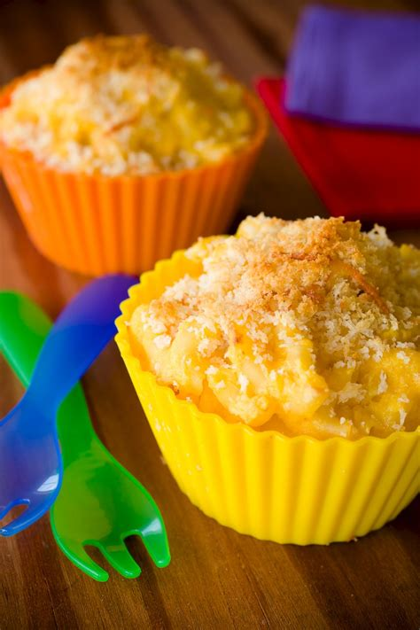 Cupcake Cheese macaroni and cheese cupcakes recipes dishmaps
