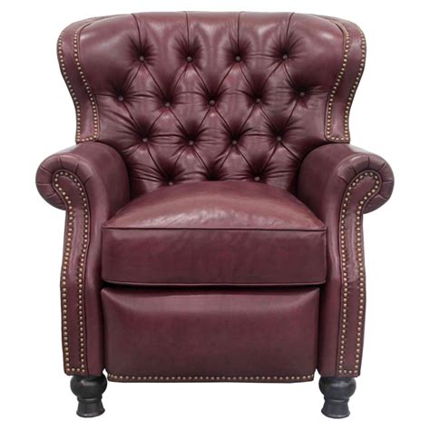 barcalounger presidential leather recliner presidential recliner by barcalounger lewis furniture store