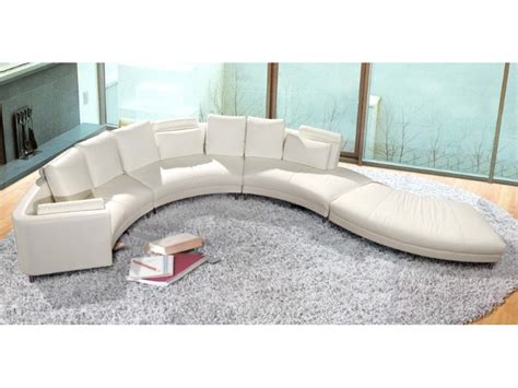 Circle Sectional Sofa Circular Sofa Sectional Dreamfurniture Divani Casa Circle Modern Leather Circular Sectional 5