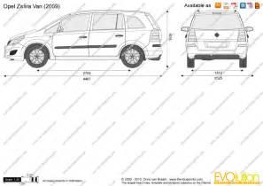 Opel Zafira Dimensions Image Gallery Opel Zafira Dimensions