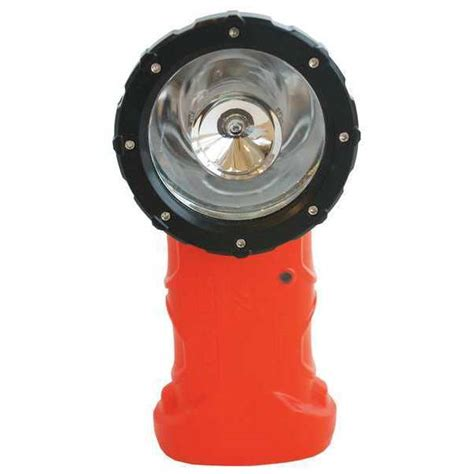 bright 510304 right angle flashlight orange led 200 l