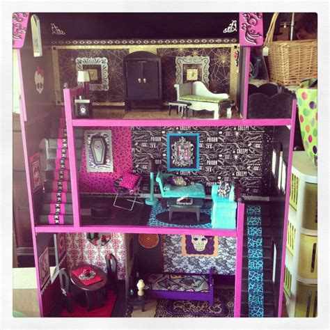 monster high doll house ideas livia s monster high doll house monster high ideas pinterest