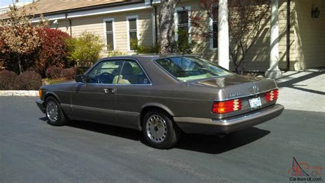 1987 mercedes 560sec 1987 mercedes 560 sec