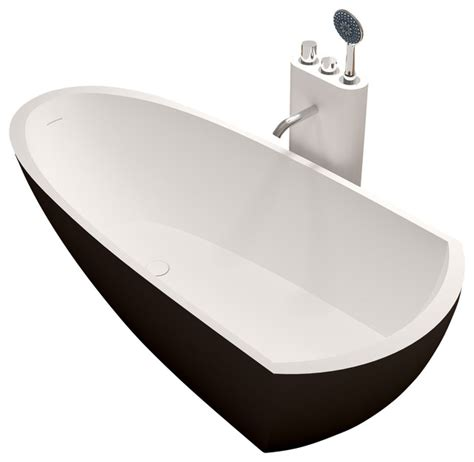 Resin Bathtub by Adm Matte Black Stand Alone Resin Bathtub Bathtubs By Adm Bathroom Design
