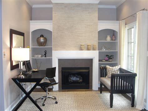 home design ideas gray walls 21 contemporary gray home office designs decorating