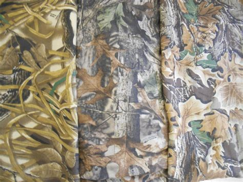 Realtree Upholstery Fabric by Camo Camouflage Cotton T Shirt 1x1 Rib Knit Fabric