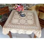 Manteles Cuadrados Crochet Patrones  Imagui