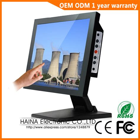 Lcd Komputer Touchscreen 15 inch touch screen monitor touchscreen lcd monitor for