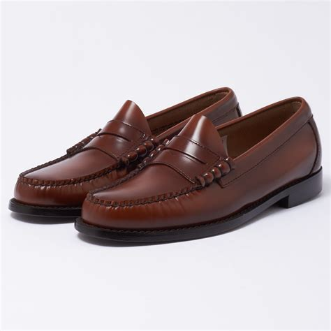 bass loafers uk bass weejuns uk store larson cognac loafer shoe