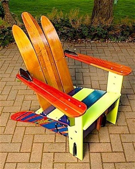 make adirondack chair from skis vintage cypress gardens water ski adirondack chair great