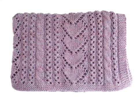 heart pattern baby blanket heart baby blanket knitting pattern a knitting blog