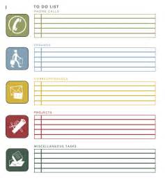 To do list template from microsoft office templates