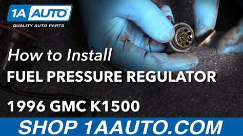 how to replace a pressure gauge 1996 saab 900 how to install replace fuel pressure regulator 1996 gmc sierra k1500 5 7l v8 youtube