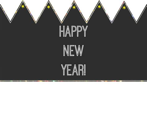 printable happy new year images happy new year printable crown allfreekidscrafts com