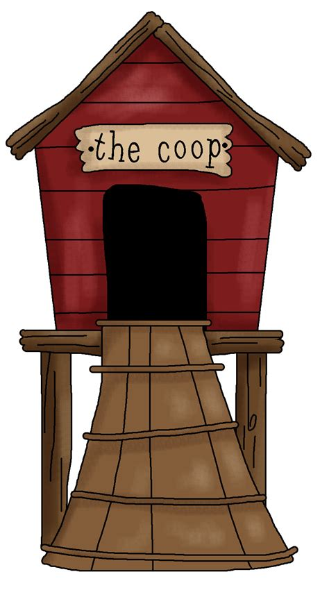 Red Barn Kennel Hen House Clipart Clipart Suggest